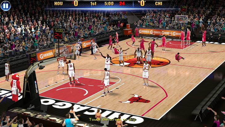 Баскетбольный симулятор NBA 2K14 для Android