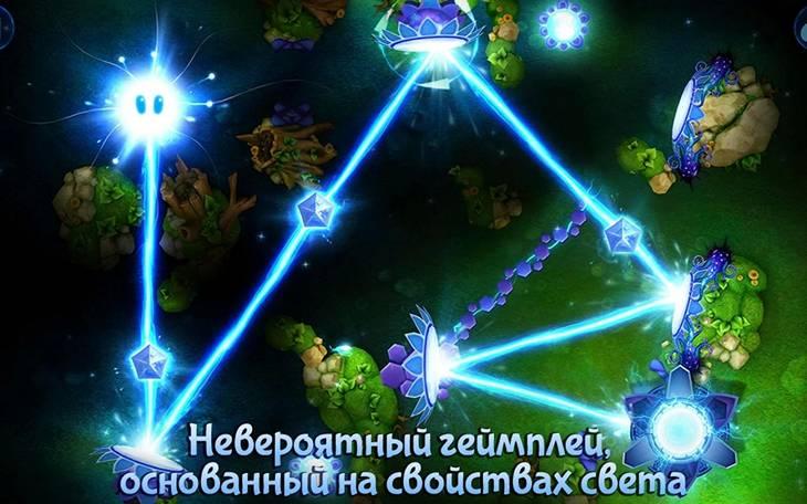Бесплатная физическая головоломка God of Light для Android