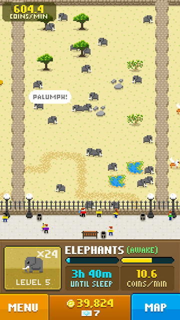 Игра Disco Zoo на Android