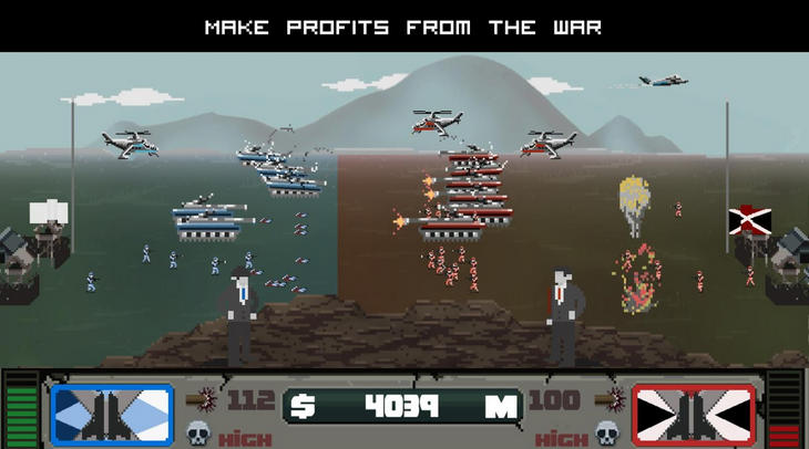 Игра War Agent на Android