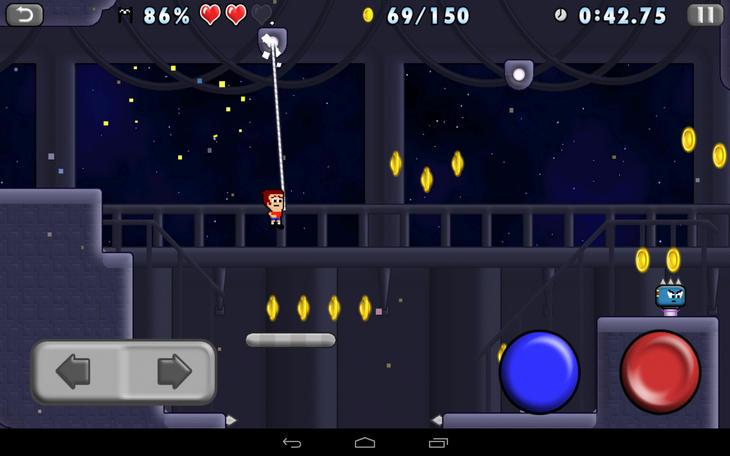 Игра Mikey Hooks на Android