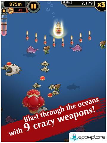 Игра Mobfish Hunter на Android
