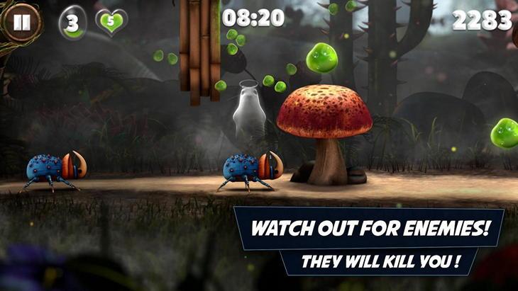 Игра для Andriod Snailboy