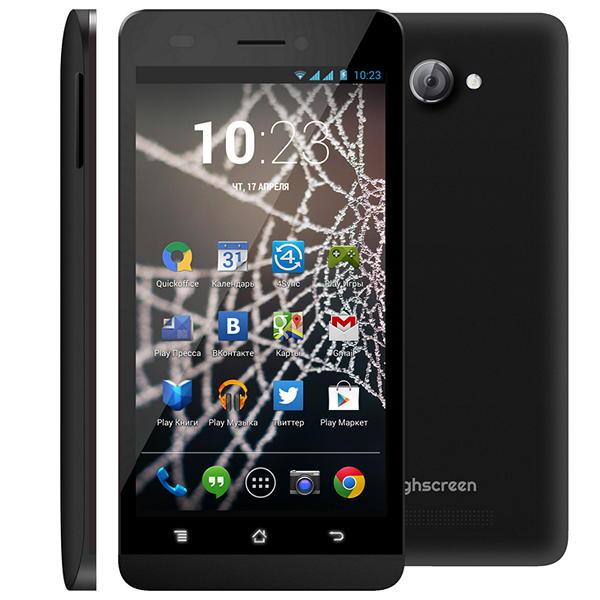 Самый бюджетный 4-ядерный LTE-смартфон в России - Highscreen Spider