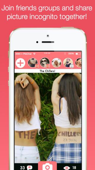 Pikichat для iPhone - фоточат, созданный всего за неделю