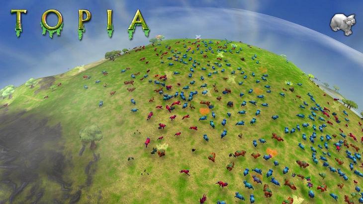 Android-игра Topia World Builder - почувствуй себя творцом