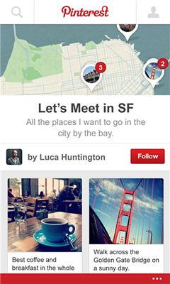 Приложение Pinterest для Windows Phone 8