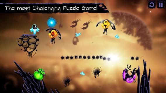 Обзор iOS-игры Biosis: физическая головоломка в глубинах Вселенной