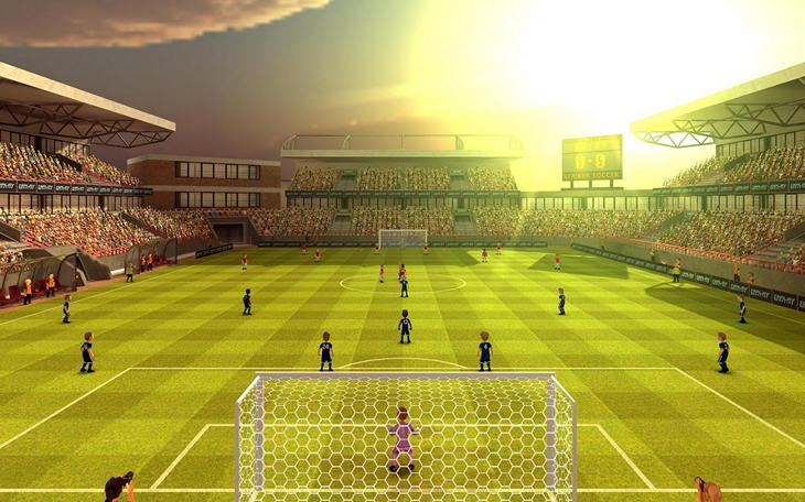 Игра Striker Soccer 2 для Android