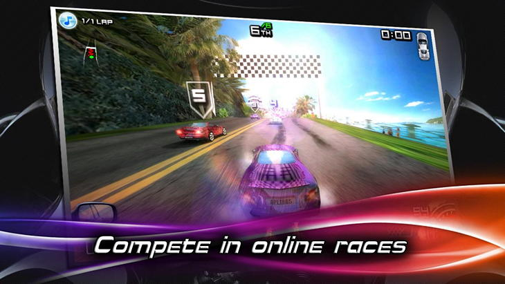 Игра Race Illegal: High Speed 3D для Android