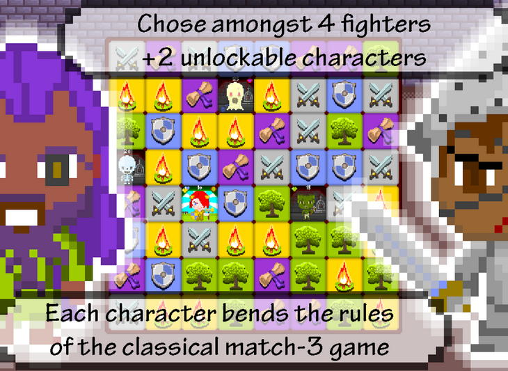 Игра Swoc: of Swords and Blocks для Android