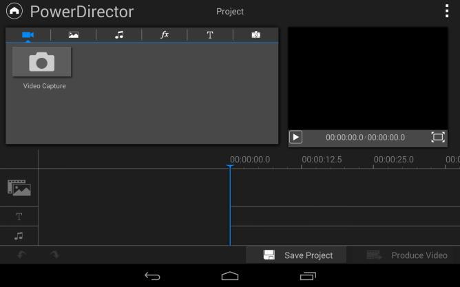 Видеоредактор CyberLink PowerDirector для Android-планшетов