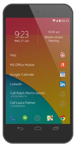 Z Launcher - лончер для Android от Nokia