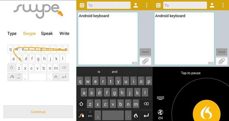 Лучшие клавиатуры для Android 2014