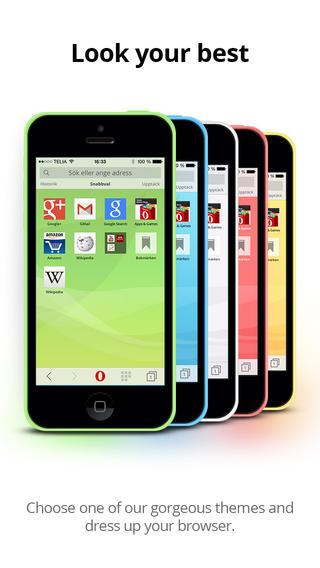 Новая Opera Mini для iPhone и iPad: обновленный интерфейс, режим Turbo и темы