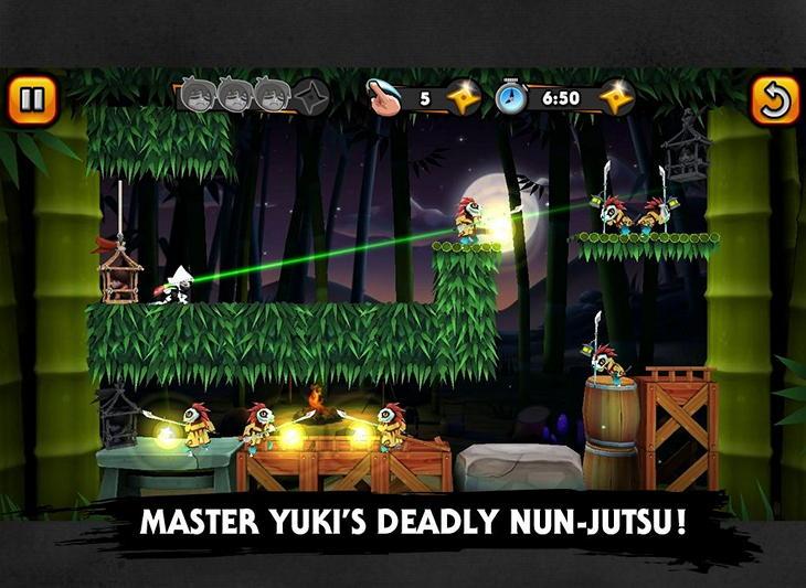 Android-игра Nun Attack Origins: Yuki