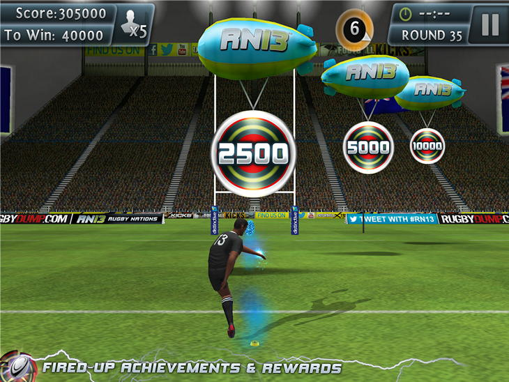 Android-игра Rugby Kicks 2