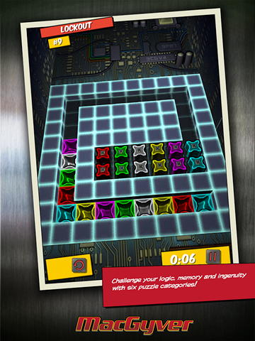Android-игра MacGyver Deadly Descent