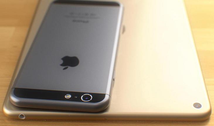 iPhone 6 � ����� iPad Air: ������������ �������� � ��������