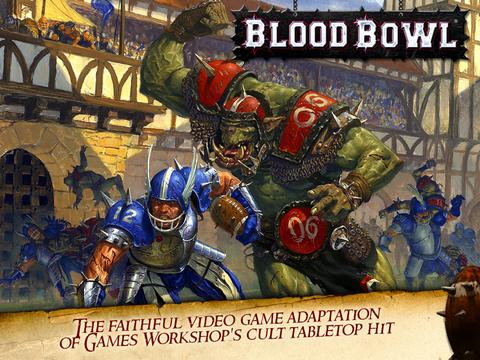 Игра Blood Bowl для iPad: американский футбол с орками во вселенной Warhammer