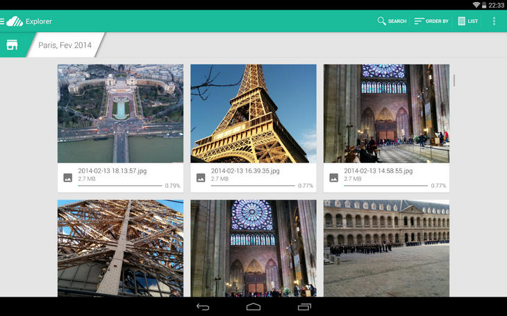 Unclouded - управляем файлами в облаках с Android