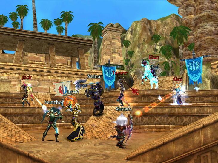 Мобильная MMORPG Order & Chaos переходит на freemium