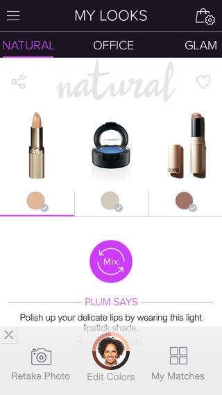 Приложение Plum Perfect для iPhone поможет подобрать макияж