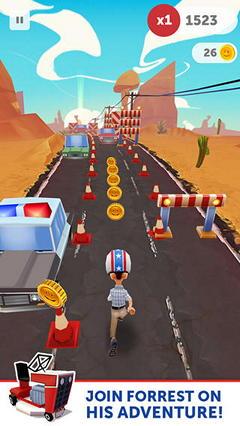 Беги, Форрест, беги! в бесконечном раннере для iPhone и iPad
