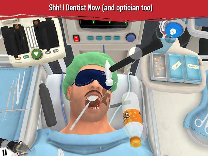 Симулятор хирурга для Android: сестра, скальпель!