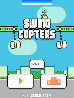 Swing Copters: новые Flappy Bird с пропеллером уже можно скачать на Android и iPhone