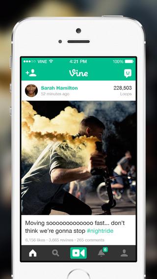 Приложение Vine научилось импортировать видео из галереи