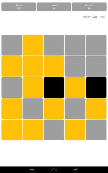 Lights OFF: классическая головоломка для Android