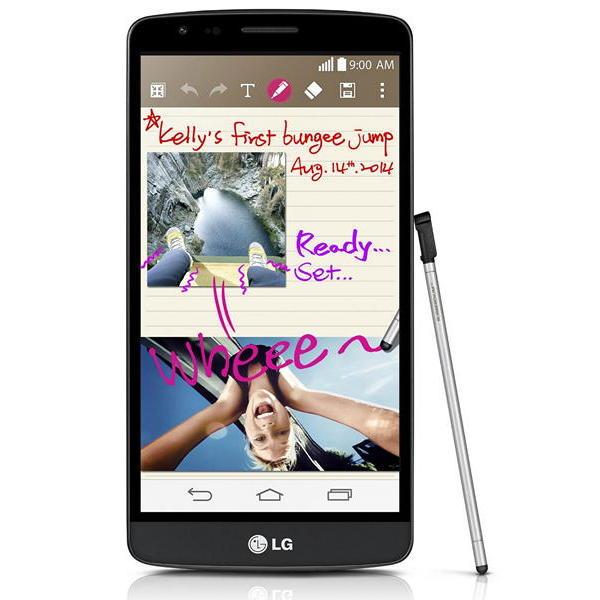 LG G3 Stylus: большой смартфон со штатным стилусом