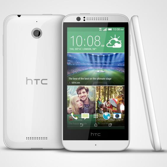 HTC Desire 510: доступный LTE-смартфон