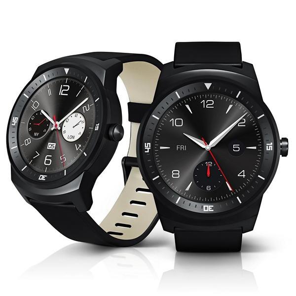 Смарт-часы LG G Watch R: круглый 1,3-дюймовый дисплей и стальной корпус