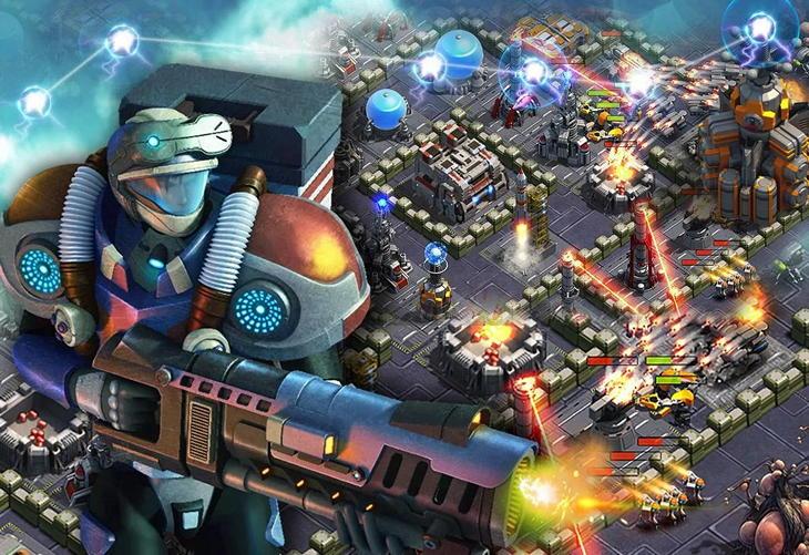 Игра Звездные баталии для Android: башенная защита в космосе