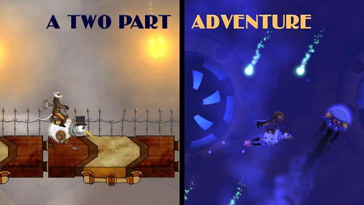Игра Clockwork Kiwi: Dungeon Dash для Android