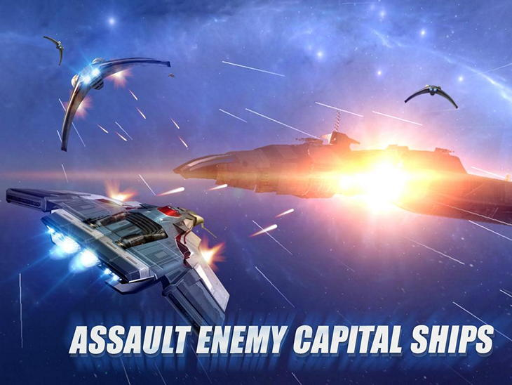 Бесплатная игра Strike Wing: Raptor Rising для Android