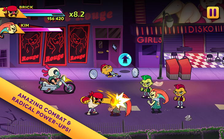 Игра Big Action Mega Fight! для Android