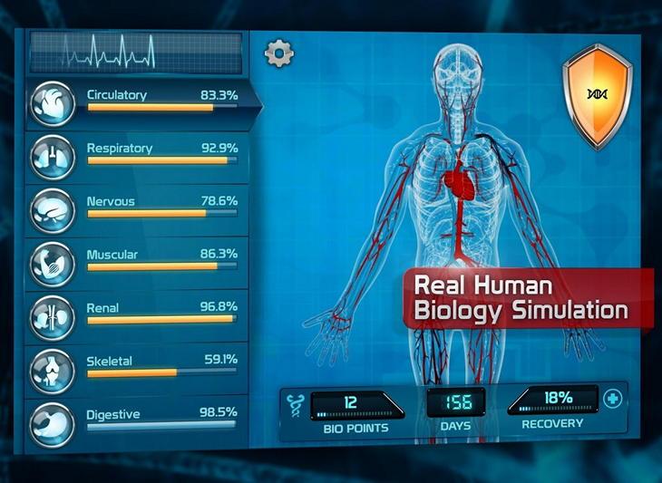 Бесплатная игра Bio Inc. - Biomedical Plague для Android