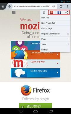 Браузер Firefox для Android научился быстро чистить и мгновенно синхронизировать