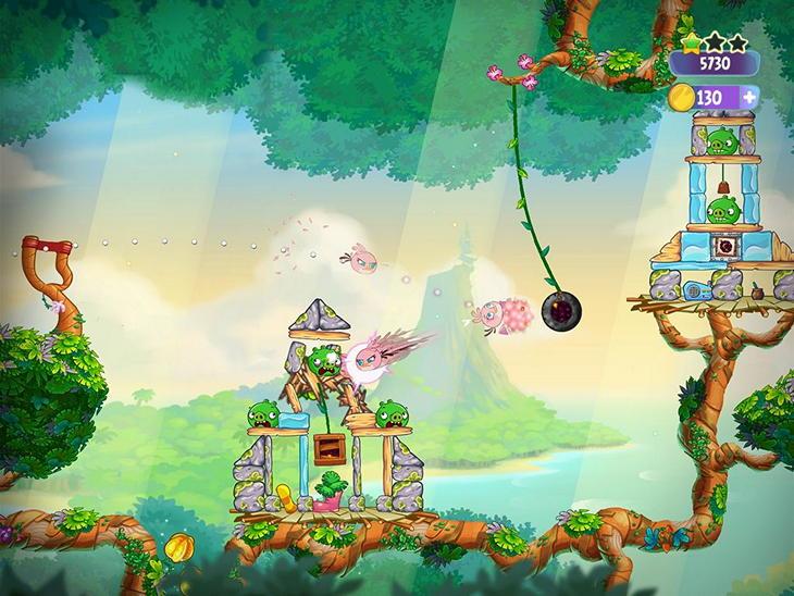 Angry Birds Stella: сердитые птахи для девочек
