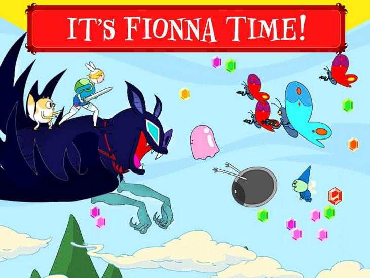 Fionna Fights - Adventure Time: время приключений с мечами