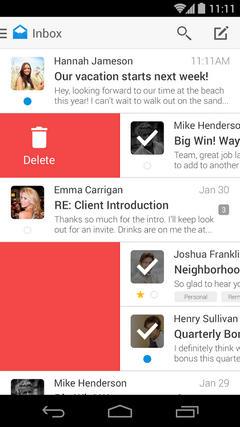 Boxer: хитовый почтовый клиент с iOS пришел на Android