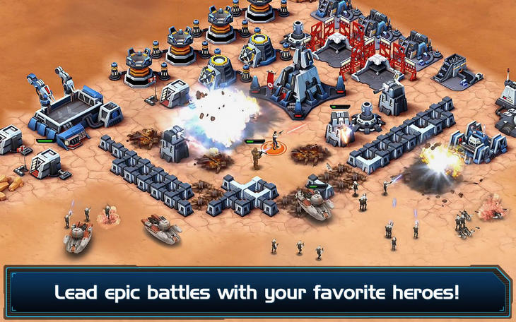 Фото 3 новости Игра Star Wars: Commander для Android и WinPhone
