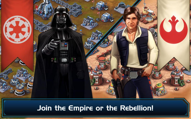 Фото 4 новости Игра Star Wars: Commander для Android и WinPhone