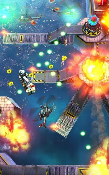 Бесплатная игра Heli Hell для Android: четырехлопастная машина смерти