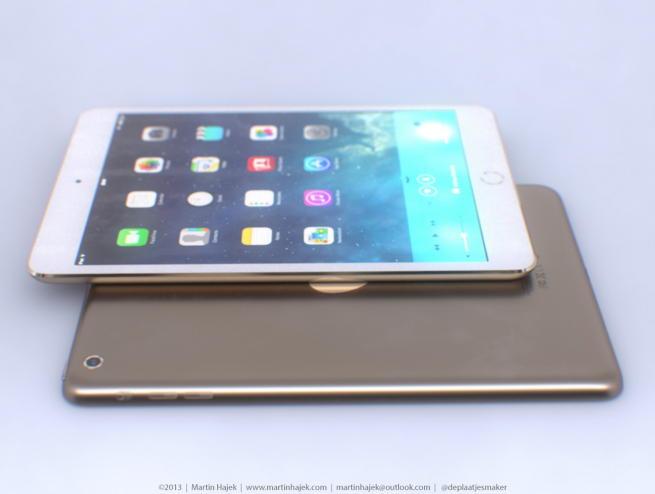 Apple позолотит iPad