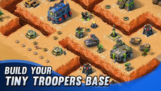 Tiny Troopers: Alliance для iOS - новая многопользовательская стратегия от Chillingo