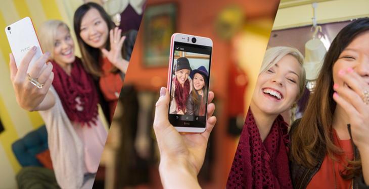 Смартфон для сэлфи: HTC Desire Eye